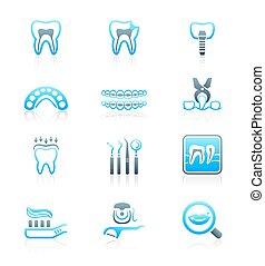 シリーズ, 歯医者の, 海洋, ||, アイコン