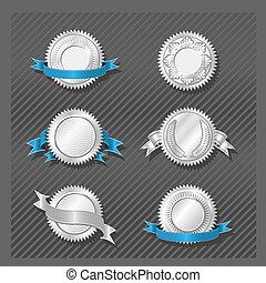 シリーズ, 紋章, -, 08, 円形浮彫り