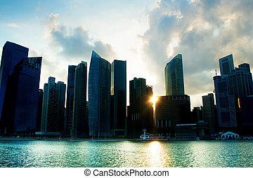 シルエット, シンガポール