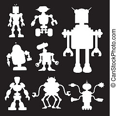 シルエット, 2, ロボット