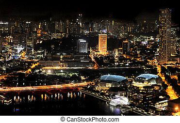 シンガポール, 夜