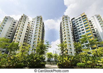 シンガポール, 政府, アパート