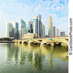 シンガポール, 朝