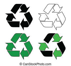 シンボルをリサイクルしなさい