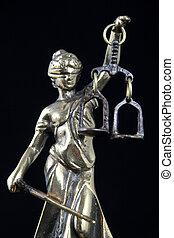 シンボル, の, 法律, そして, justice.