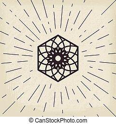 シンボル, アジア人, lotos