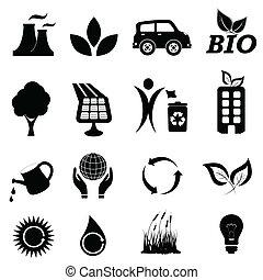 シンボル, エコロジー, 関係した