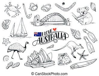 シンボル, オーストラリア, ベクトル