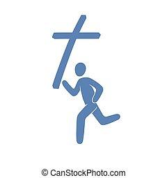 シンボル, キリスト教徒, 動き