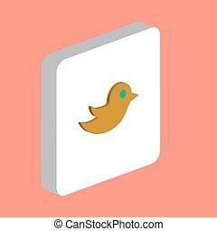 シンボル, コンピュータ, 鳥