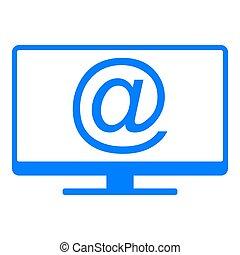 シンボル, スクリーン, 電子メール