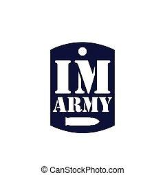 シンボル, テンプレート, 軍隊, アイコン, ロゴ