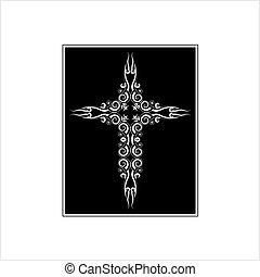 シンボル, デザイン, キリスト教徒, 交差点, キリスト教