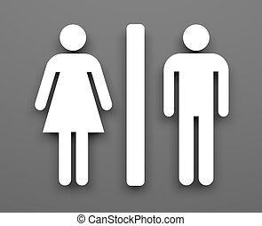 シンボル, トイレ