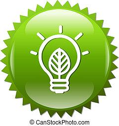 シンボル, ランプ, 緑
