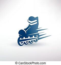 シンボル, ローラー スケート