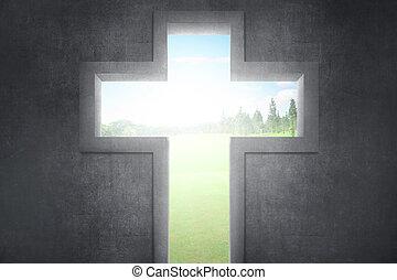 シンボル, 交差点, キリスト