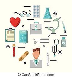 シンボル, 医学, セット