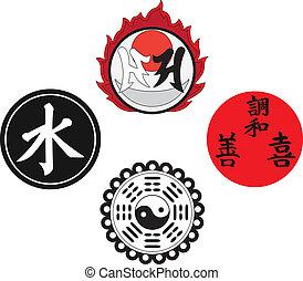 シンボル, 宗教, アジア人