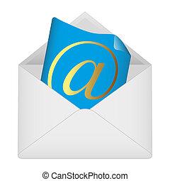 シンボル, 封筒, 電子メール