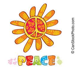シンボル, 平和, ヒッピー