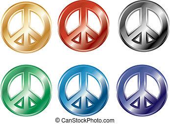 シンボル, 平和, 3d