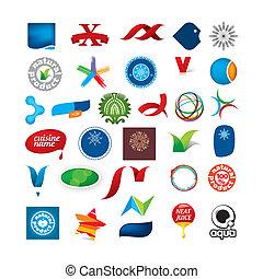 シンボル, 抽象的, branded, コレクション