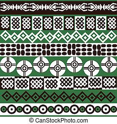 シンボル, 民族, 背景, アフリカ
