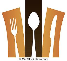 シンボル, 現代, cutlery