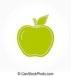シンボル, 緑のリンゴ