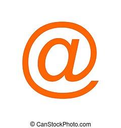 シンボル, 背景, 電子メール