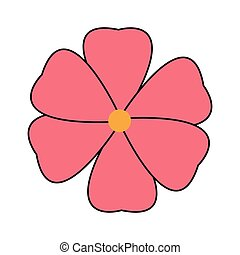 シンボル, 花, ラウンド