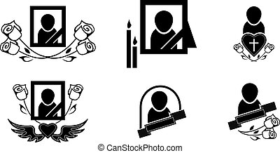 シンボル, 葬式