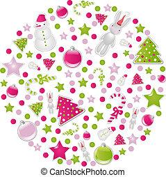 シンボル, 要素, クリスマスボール