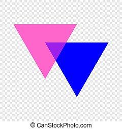 シンボル, biangles, アイコン