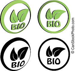 シンボル, bio, ベクトル