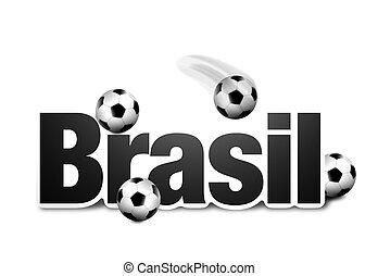 シンボル, brasil, 3d