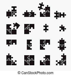 シンボル, puzzel