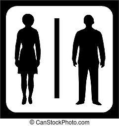 シンボル, restroom