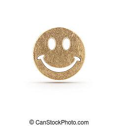 シンボル, smiley, 銅