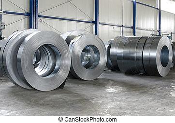 シート, 錫, 金属, 回転する