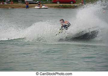ジェット機スキー