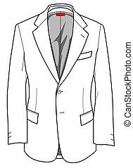 ジャケット, プレート, ファッション