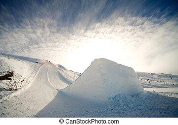 ジャンプ, スキー