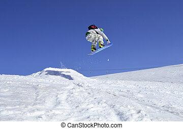 ジャンプ, スノーボーダー