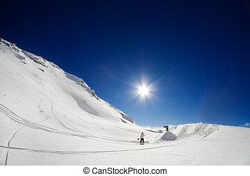 ジャンプ, スノーボーダー, 形づくること
