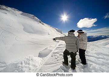 ジャンプ, snowbards