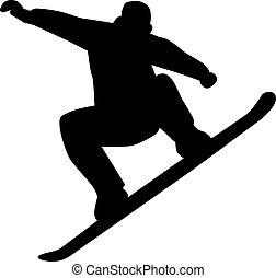 ジャンプ, snowboarding