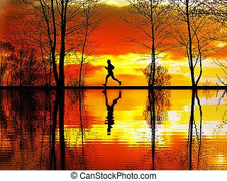 ジョッギング