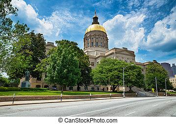 ジョージアの国家, 国会議事堂の 建物, 中に, アトランタ